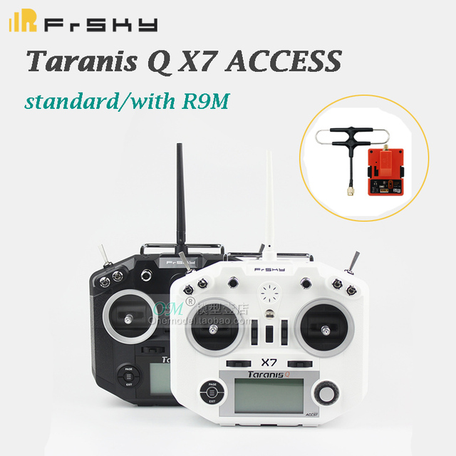 FrSky Taranis Q X7 ACCESS standard / with R9M2019 module /QX7 ACCESS 2.4GHz 16CH Transmitter Without Receiver For RC Multicopter