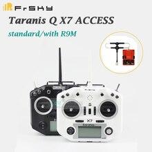 Frsky taranis q x7 padrão de acesso/com módulo r9m2019/qx7 acesso 2.4 ghz 16ch transmissor sem receptor para rc multicopter