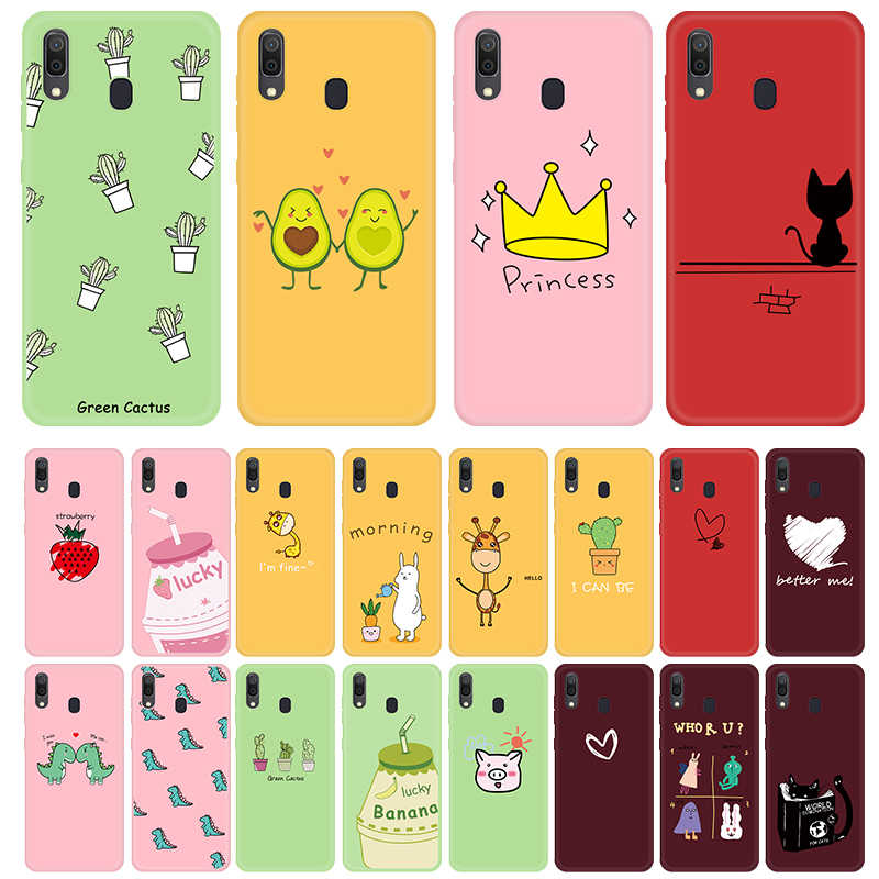 Voor Samsung A30 A50 A70 A51 A71 Case Leuke Dieren Vruchten Patroon Cover Voor Samsung Galaxy Note 10 Plus Note10 pro Tpu Case Shell
