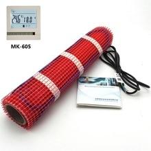 MINCO HEAT 1~ 5m2 подпольный Нагревательный мат 220V 150 w/m2 комнатный нагреватель(выбор Wi-Fi термостата