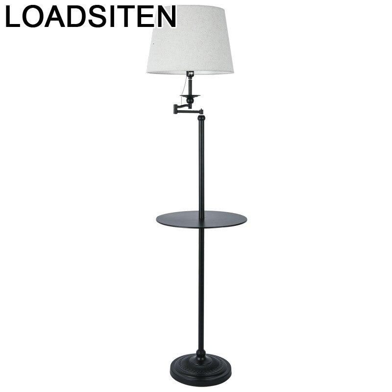 Lampe Sur Pied Para Sala Stand Lambader Aydinlatma Salon Vloerlamp Stehlampe Staande Lamp Lampadaire Lampara De Pie Floor Light