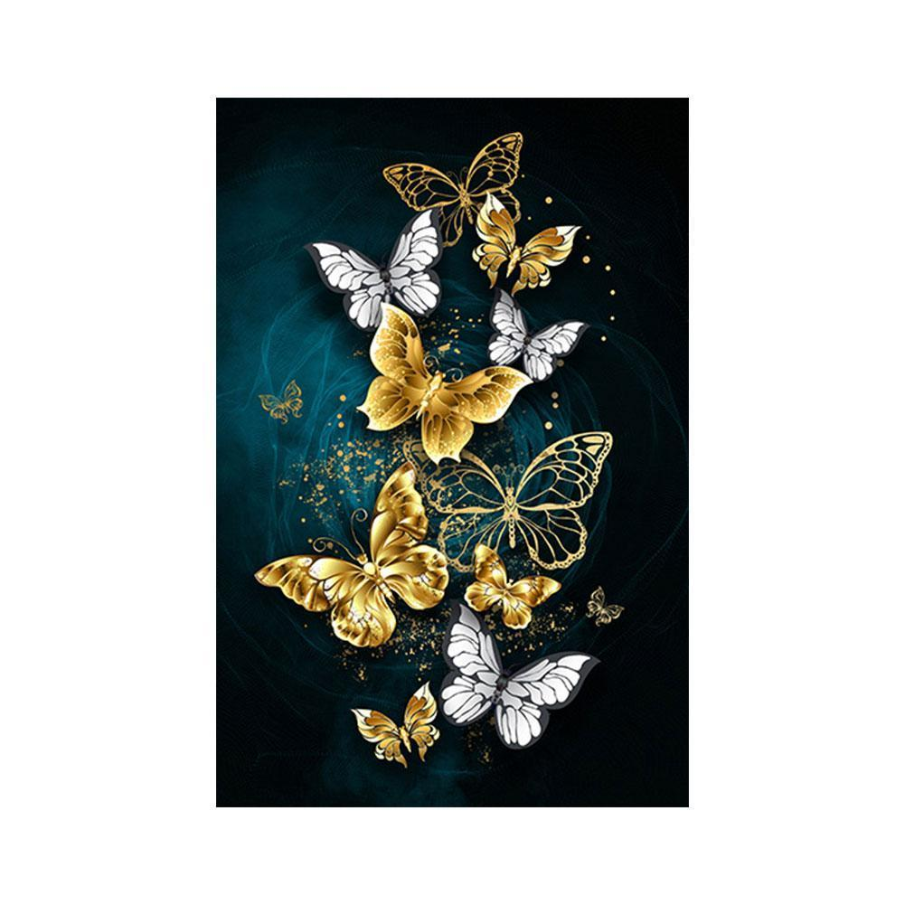 Butterfly Pattern 3D Diy Diamond Painting Cross Ctitch Kits Diamond Art Crystal Mosaic Embroidery Painting Decor