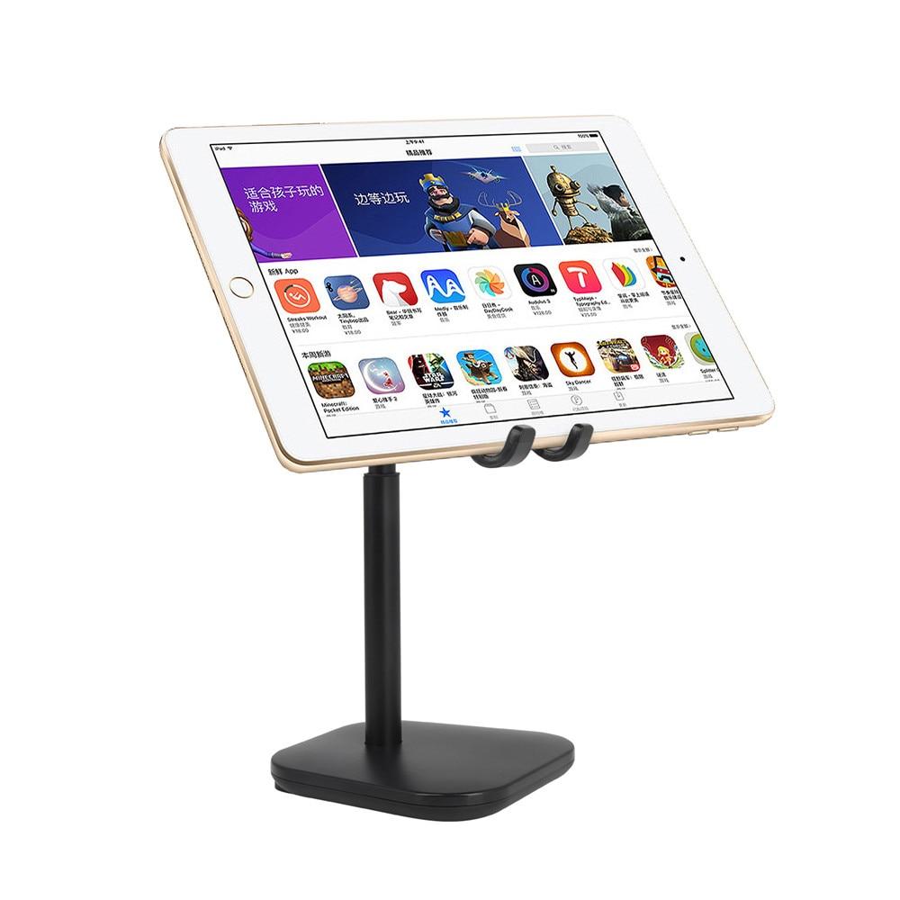 Tablet Stand Holder Desk Adjustable Desktop Mobile Phone Stand for Samsung Huawei Lenovo IPad Tablets Holder 4.7''-13'' Screen