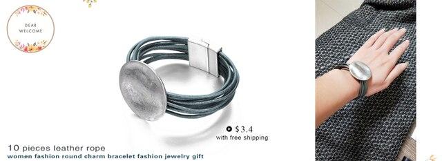 Ожерелье чокер в стиле панк для женщин простой объемный круглый