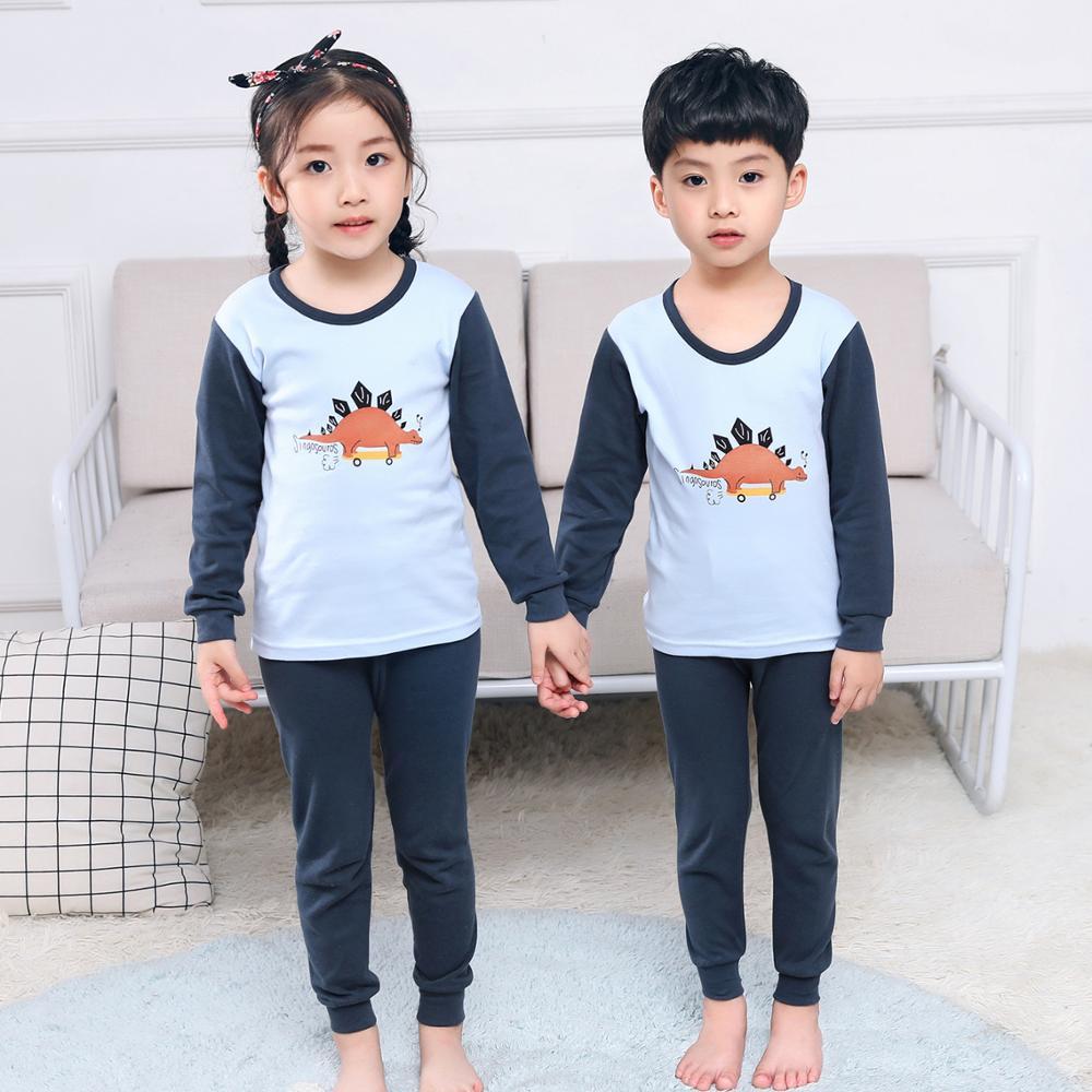 SAILEROAD Children Lion King Pajamas Set Kids Cartoon Animals Pyajamas Boys Homewear Girls Sleepwear Child Clothes Sets Baby PJS 5