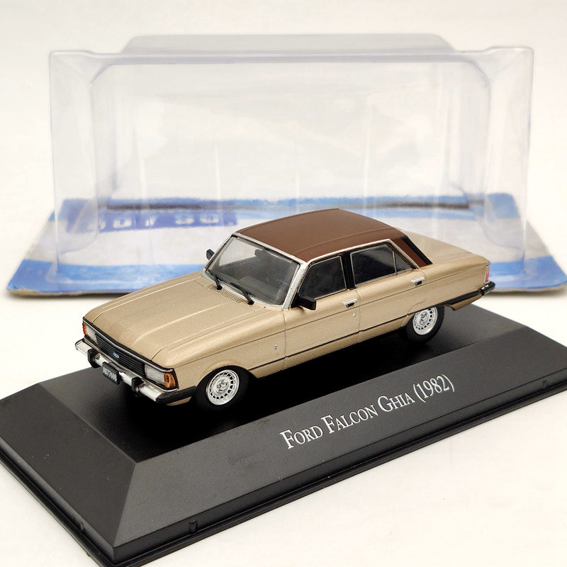 IXO 1/43 Ford Falcon Ghia 1982 Gold Diecast Models Limited Edition Collection