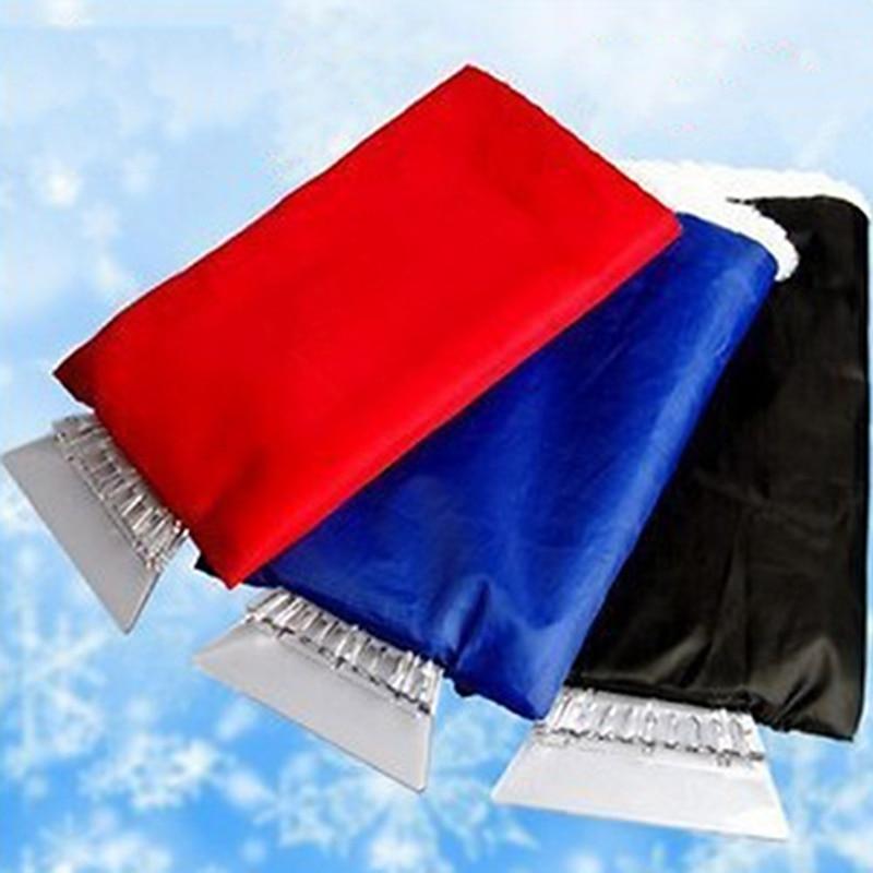 1 шт., автомобильный оконный скребок для льда, аксессуары для автомобиля, зимние перчатки, инструмент для снега, инструмент для чистки льда