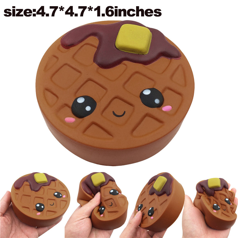 12cm New Chocolate Slow Rising Squeeze  Pendant Squishes Collection Soft Scented Kid Toy Gift Collections L1218