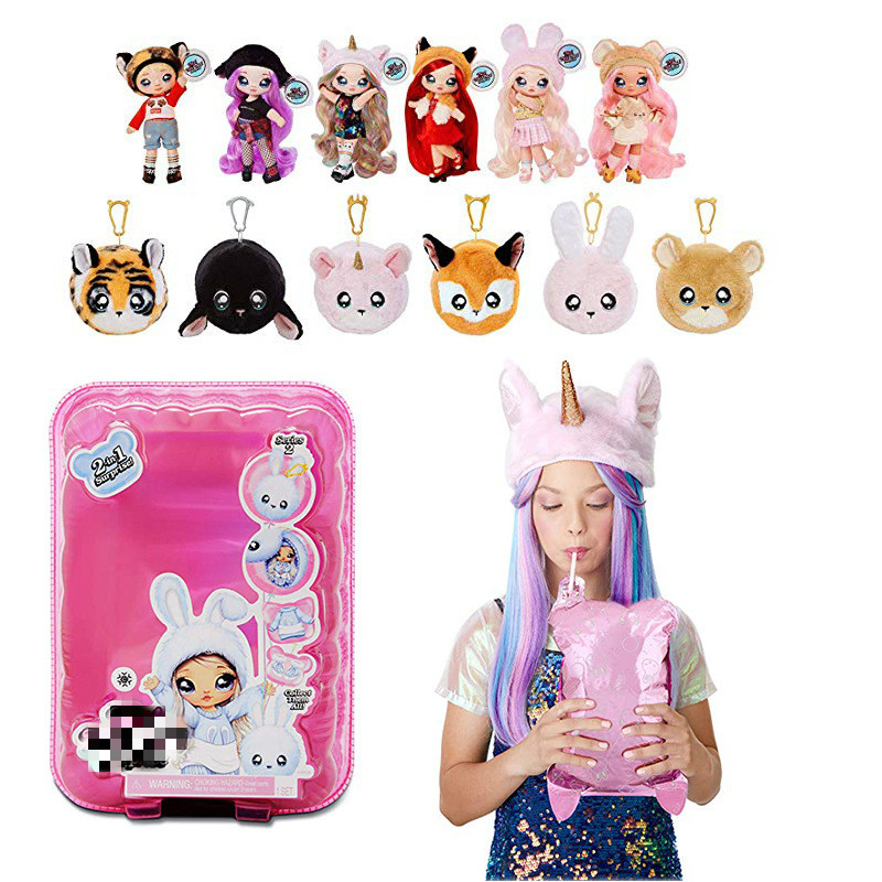 1Pcs NA NA NA! Surprise 2-in-1 Fashion Doll Nanana Surprise Dolls Toys Special Birthdays Gift For Girls Kids