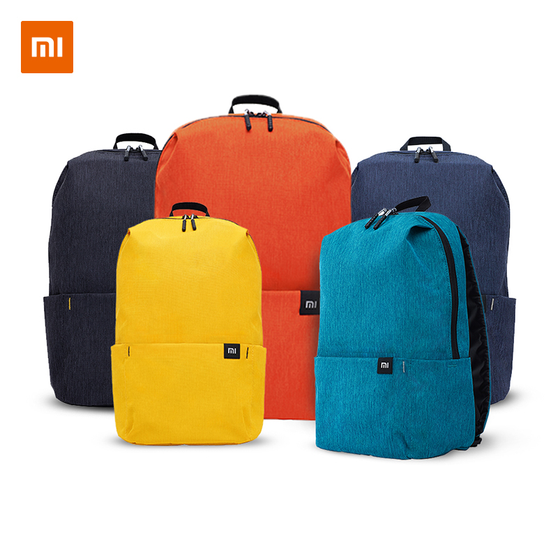 Xiaomi Mi Casual Daypack Original 10L Yellow Blue Urban Leisure Sports Chest Pack Bags Travel Backpack Large Capacity Unisex|Backpacks| - AliExpress