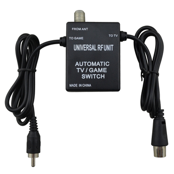 10 pcs 3 in 1 Universal RF Unit Adapter Cable Automatic TV Game Switch for Super Nintendo for NES for SNES for SEGA Genesis