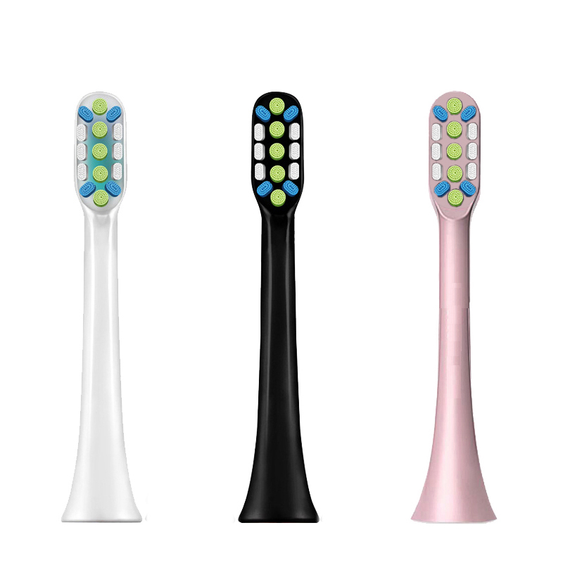 Ally For Xiaomi Mijia SOOCAS X3 X3U X5 Ultrasonic Electric ToothBrush Heads 3D Oral Whitening High-density Replacement Heads