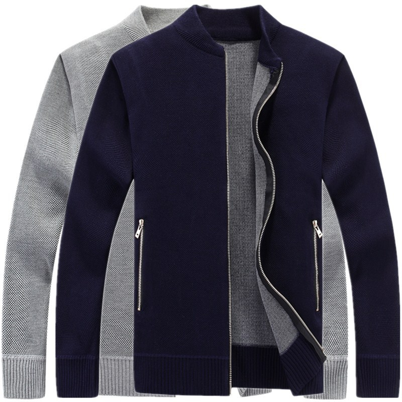 2019 New Fashion Knitted Sweater Mens Cardigan Slim Fit Jumpers Knitwear Warm Autumn Casual Korean Style Clothing Male
