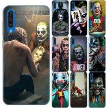 Mroczny rycerz Joker Karta film miękki silikon skrzynki pokrywa dla Samsung A10 A20 A30 A40 A50 A60 A70 A01 A51 A71 A81 A91 A9 A7 2018
