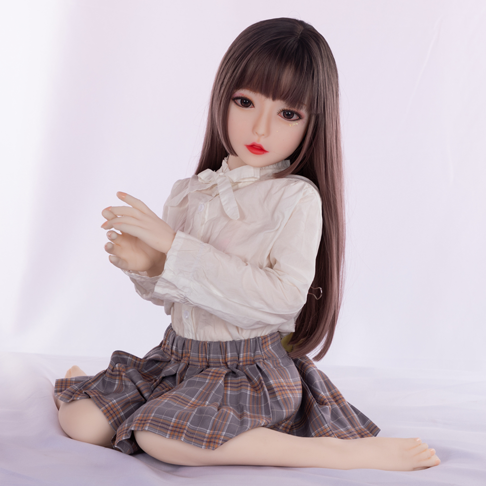 2020 USA UK Hot Sale <font><b>100cm</b></font> Japan 18 Age Girl Young Adult <font><b>Sex</b></font> <font><b>Doll</b></font> Soft TPE <font><b>Flat</b></font> Chest A Cup Small Tits No Boobs Mini <font><b>Sex</b></font> <font><b>Doll</b></font> image