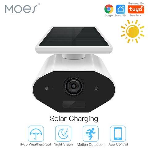 Inteligente ao ar Rede de Áudio Livre com Google Tuya Câmera Livre Solar 1080 p Bidirecional Ip65 Fiação Trabalho Assistente hd Mod. 177507