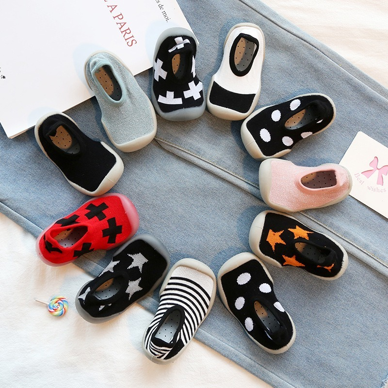 Brand Designer Baby Shoes Boy Girl Fashion Toddler Shoes New Born First Walkers Lovely Baby Booties Kids Anti-Slip Sneakers