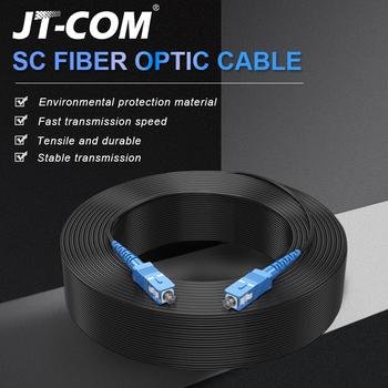 SC UPC do SC UPC kabel światłowodowy Drop jednomodowy Simplex 2 0mm zewnętrzny kabel światłowodowy Patch Patch Patch tanie i dobre opinie JT-COM CN (pochodzenie) 20 m Linksys QSFPTEK Enterasys F5 Networks tryb pojedynczy SC UPC 100m JT-LFJSS-BSU-10