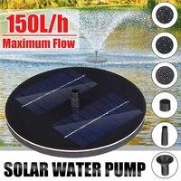 10V fuente Solar  kit de riego  bomba Solar  piscina  estanque  cascada sumergible  Panel Solar flotante  fuente de agua para jardín