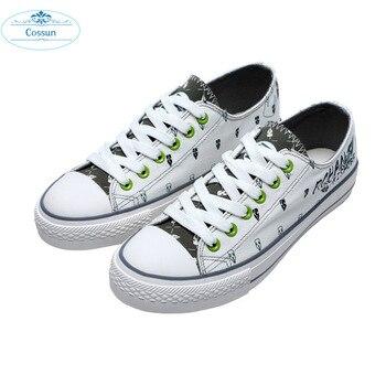 COSSUN Jojo's Bizarre Adventure Giorno Giovanna/bruno Bucciarati Shoes Lolita Girl Cosplay Shoes Casual /fashion Skate Shoes 1