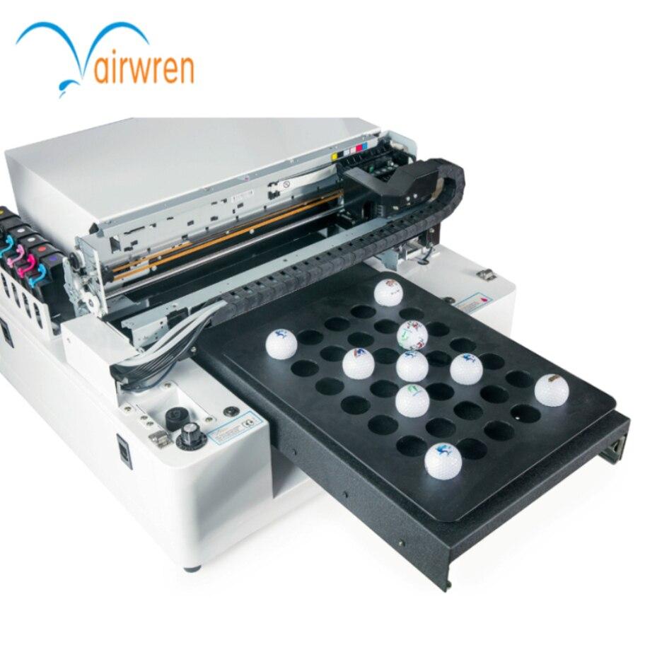 2020 Digital Uv Flatbed Printer A3 Phone Case /golf Ball Logo Printing Machine