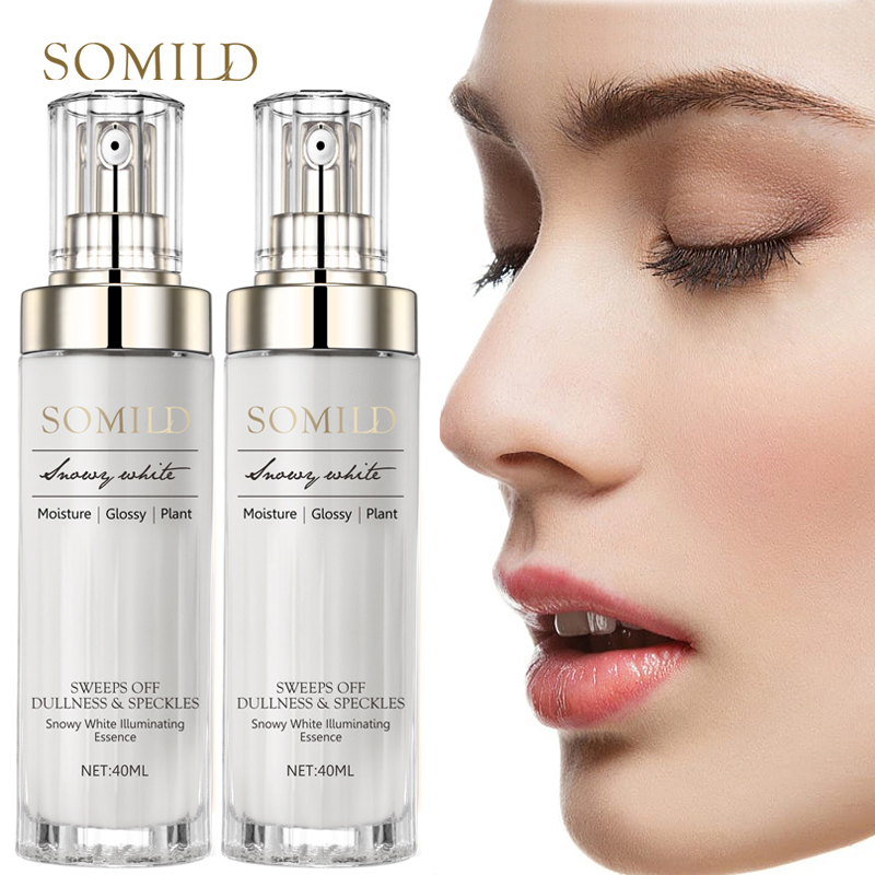 SOMILD Anti Aging Facial Serum Anti-Oxidation Firming Whitening Emulsion Face Lift Essence Lotion Korean Cosmetics Skin Care Set