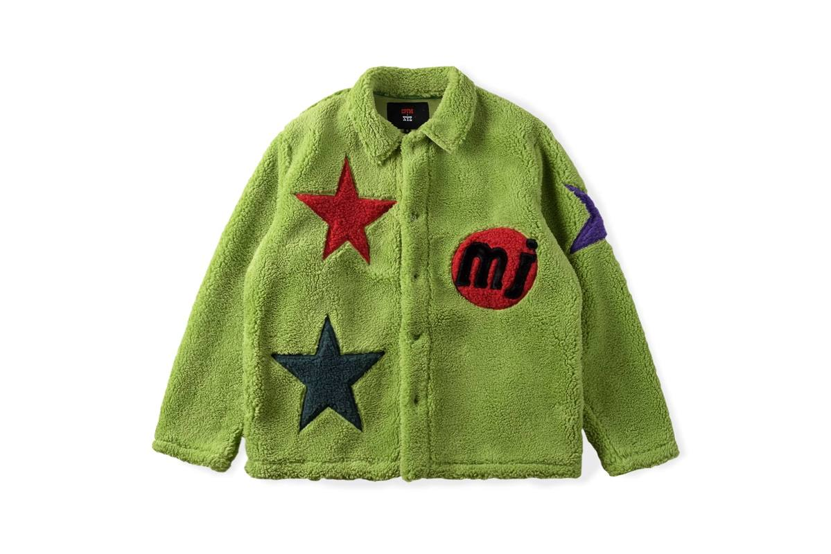 CPFM XYZ Jacket Oversize Star ricamato uomo donna giacche CPFM Streetwear stile Hip-Hop 100% lana di agnello Kanye West CPFM giacche