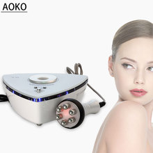 AOKO Multipolar RF Facial Beauty Machine Skin Rejuvenation Skin Lifting Wrinkle Removal Face Massager Skin care Device Home Use 2 in1 rf radio frequency facial machine no needle meso massager skin firming wrinkle removal home use beauty device