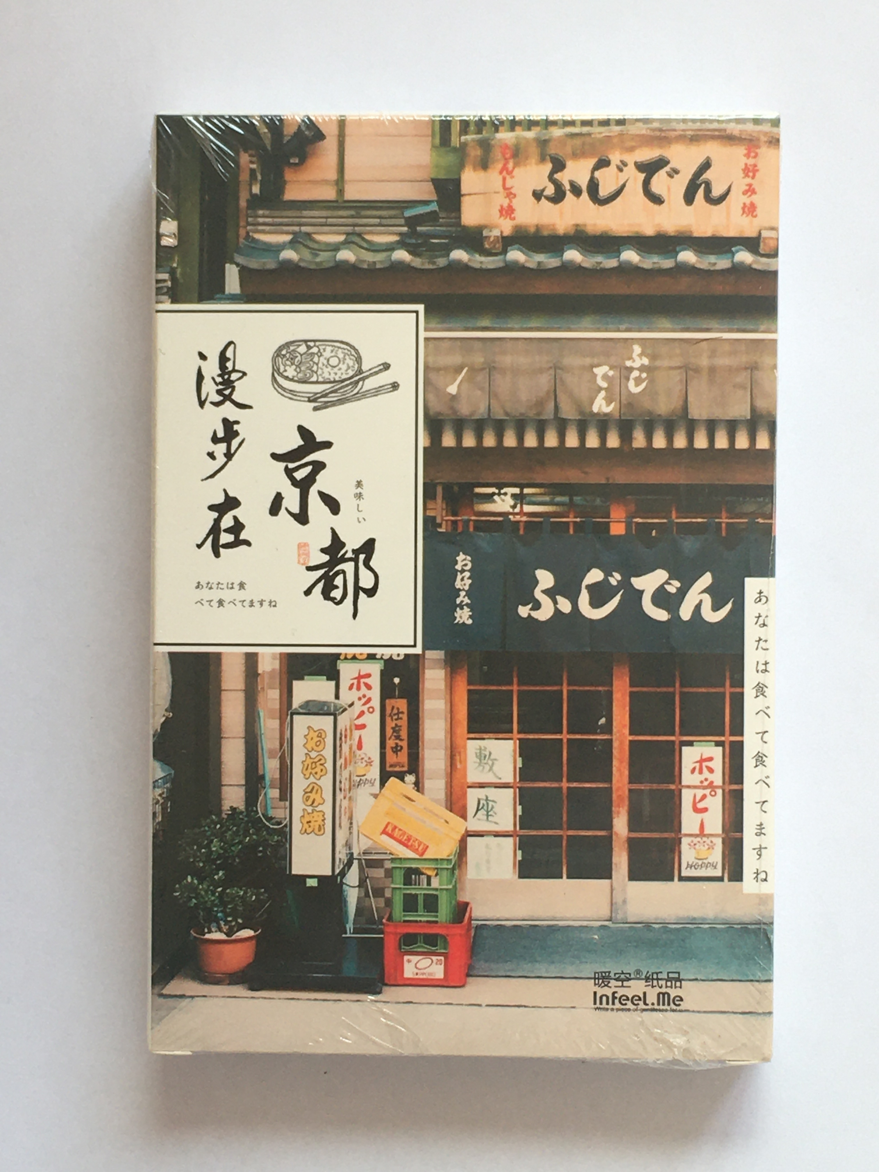 A136- Walking Kyoto Paper Postcard(1pack=30pieces)