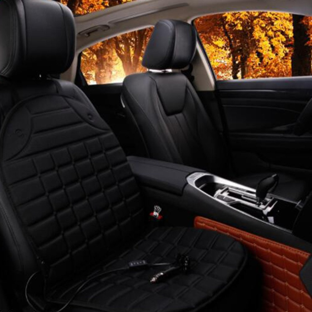 Pad Seat-Covers Heated-Car Heating Universal Electric Winter Hot Warmer Conjoined-Supplies