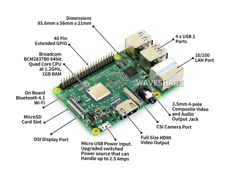 raspberry pi 3 modelo original b 04