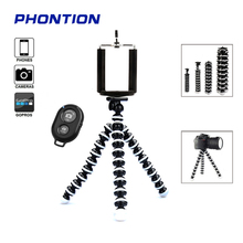 3pc/set Octopus Flexible Tripod Camera Stand Clip Holder Outdoor Photograph Bracket for Gorillapod Telefon Dslr GOPRO Smartphone alloyseed mini flexible sponge octopus tripod portable phone camera holder bracket for gopro camera dslr mount