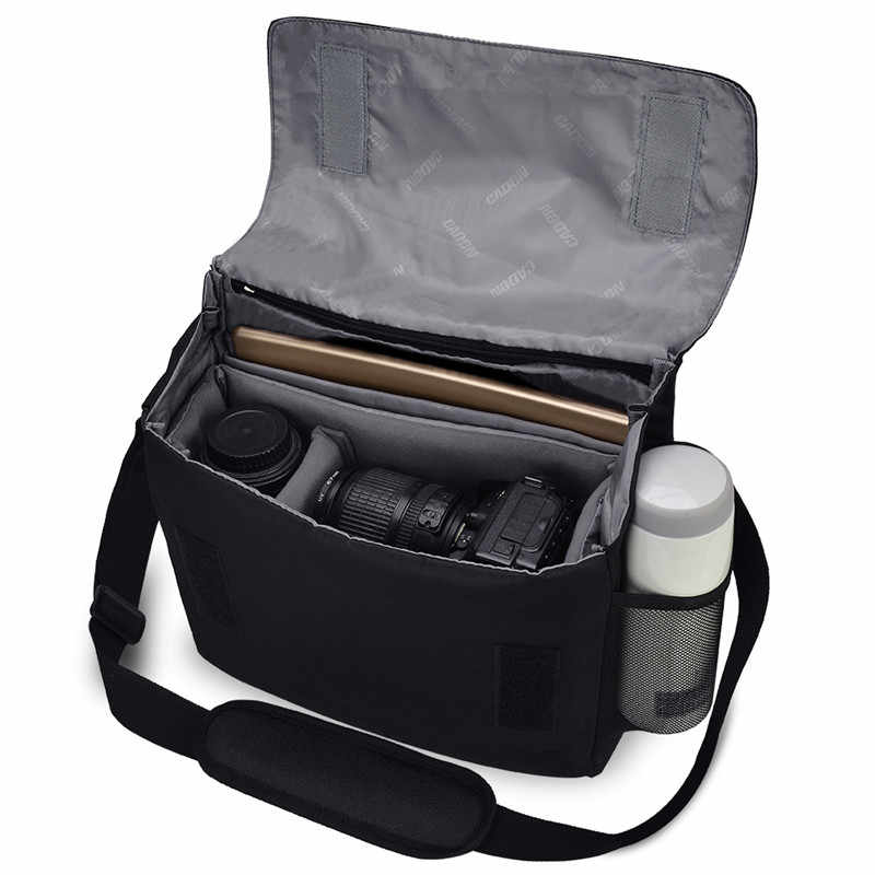 LIXBB Outdoor Product//Fashion Bag Camera Bag Waterproof Photographers DSLR Camera Backpack Camera Bag for DSLR Cameras Canon EOS and for Nikon D7100 D7000 D5300 D5100 D5000 D3200 D3100