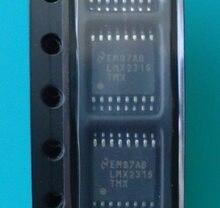 5/pces lmx2326tmd lmx2326tm lmx2326 remendo TSSOP-16 pinos chip ponto original