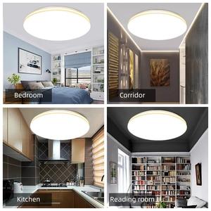Image 5 - LED Ceiling Light 72W 36W Down Light Surface Mount Panel Lamp AC 220V 3 Colors Change Modern Lamp For Home Decor Lighting