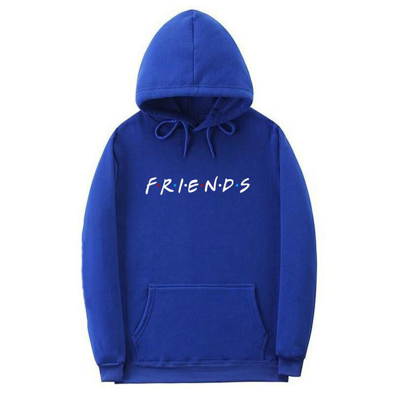 2019 New Friends Tv Show Logo Printing Hoodies Sweatshirts The Screw Thread Cuff Women Hoodies Sweatshirt Hip Hop Clothing