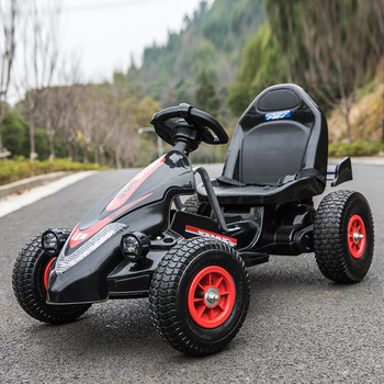 Children's Electric Car Dual-drive Four-wheel Inflatable Rubber Tire Drive Kart Remote Control Electric Car for Kids Ride on marcel jufer electric drive design methodology