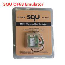 10pcs/lot high quality SQU OF68 support IMMO/Seat accupancy sensorTool /Tacho Programs SQU OF 68 Universal car emulator free shipping super tacho pro 2008 unlock version odometer correction universal programmer tacho 2008 07 best quality