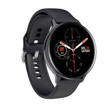 Bakeey S20 1.4inch Full Touch Screen Smart Watch Heart Rate Monitor Black Long S