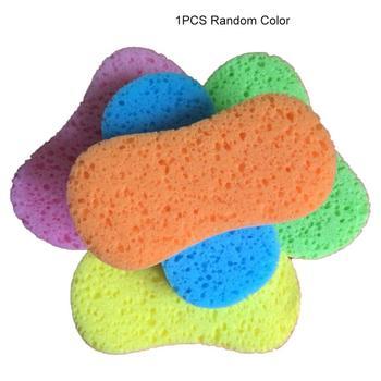 Large Car Wash Sponge High Density 8 Characters Vacuum Compression Sponge Car Wipe Sponge Block Honeycomb Sponge фото