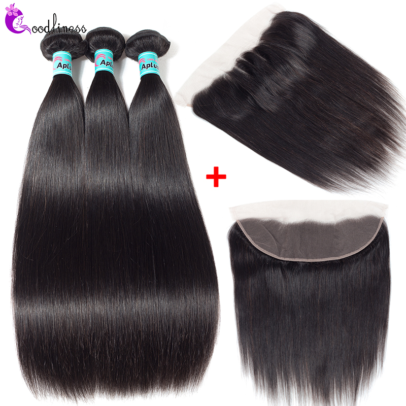 Peruvian Hair Bundles With Lace Frontal Closure Straight Hair Bundles With Frontal Pre Plucked Frontal And Bundles Remy