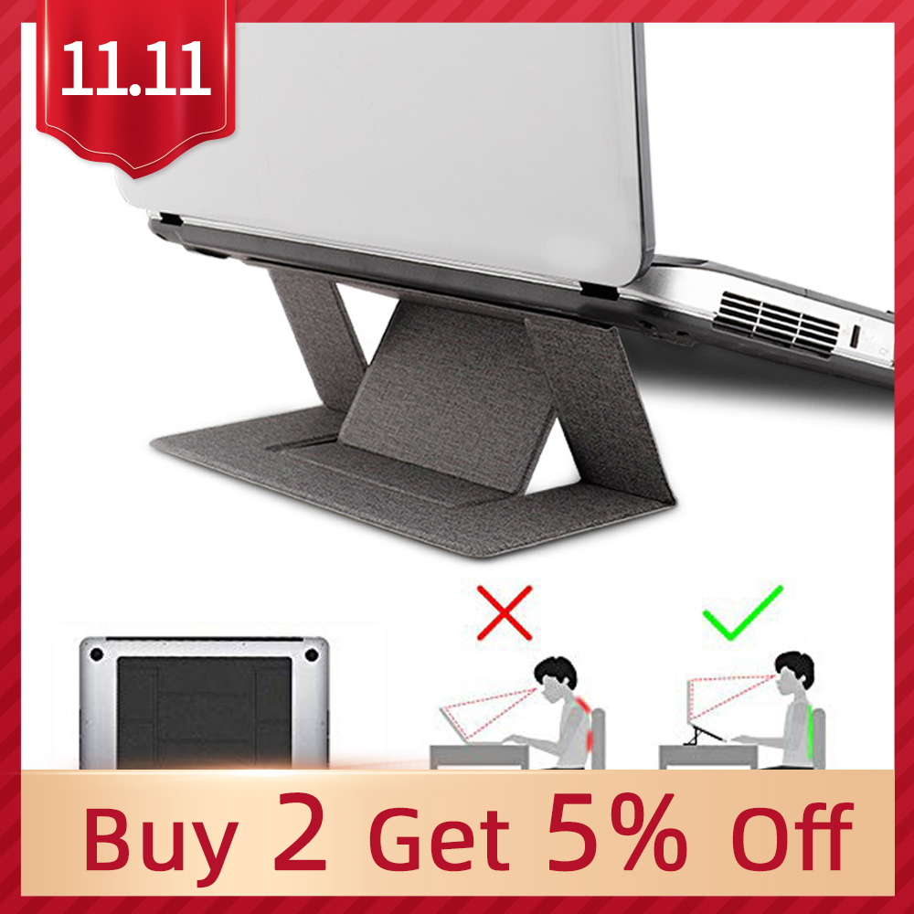 Portable Adjustable Laptop Stand Convenient Laptop Pad Folding Bracket Function Tablet Holder For IPad MacBook Laptop