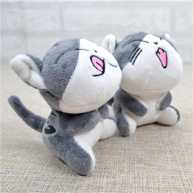 10cm Janpan Cat Women Handbag Pendant Keychain Toys Plush Cat Stuffed Animal Small Pendant Dolls Gift Plush Toys