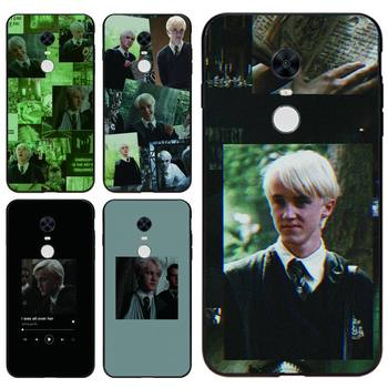 Draco Malfoy Tpu Phone Case For Redmi 7A 4X 5 6 7 8 8A 5Plus GO Note 4/4X 7 K20/Pro Cases image