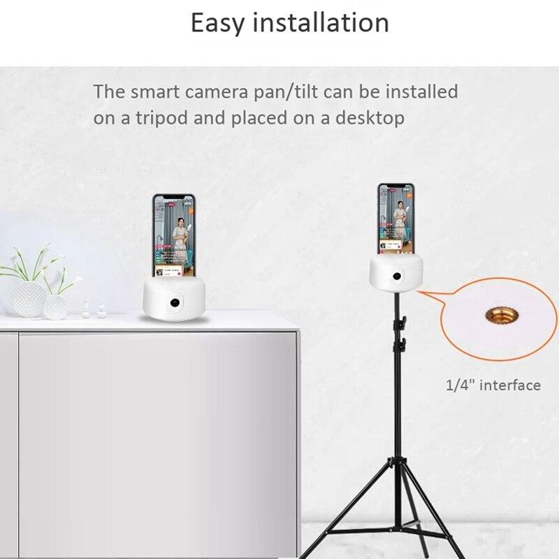 K9 inteligente gimbal 360 degreeai smart follow-up