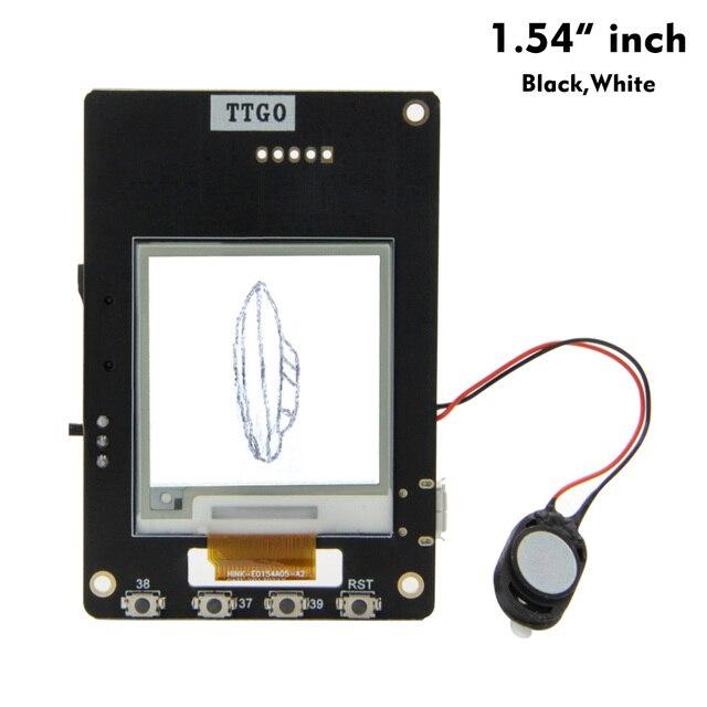 LILYGO®TTGO T5 V2.4 Wifi ו bluetooth בסיס ESP 32 Esp32 1.54/2.13/2.9 אינץ מסך נייר אלקטרוני רמקול