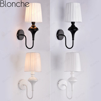 Modern Wall Lamp Cloth Industrial Wall Light For Living Room Bedroom Aisle Home Decor Lighting Fixtures Industrial Luminarias Leather Bag