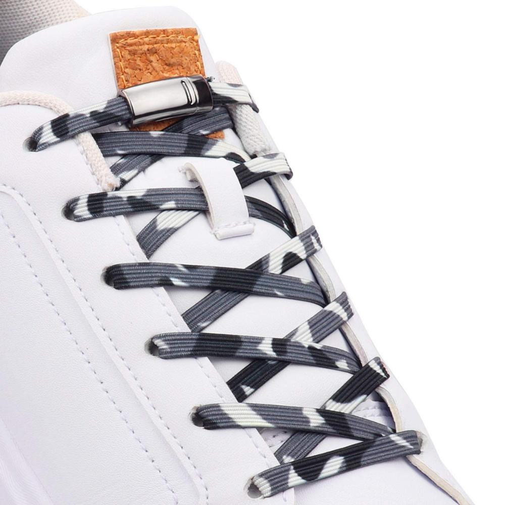 Colorful Magnetic Shoelaces Elastic No Tie Shoe Laces Kids Adult Unisex Safety Quick Lazy Laces Sneakers Locking Flat Shoe Lace