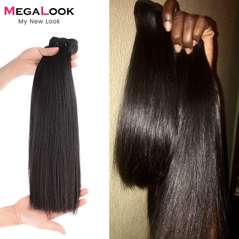 Feixes de cabelo humano com fechamento do cabelo do virgin pacotes de cabelo peruano com fechamento 3 4 pacotes de cabelo reto do osso com fechamento