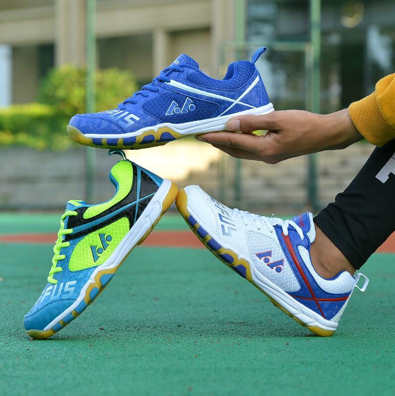 Zapatos profesionales de bádminton para hombres y mujeres, zapatos de tenis antideslizantes para interiores, zapatos de cancha para niños, zapatillas deportivas de Bádminton